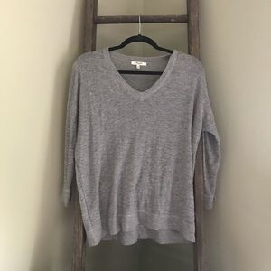 Madewell V-Neck Sweater XS